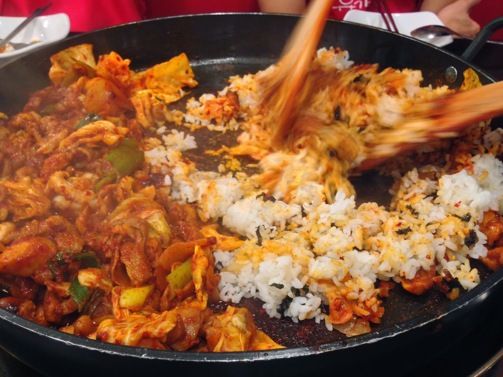 Dak Galbi with Cheese 02