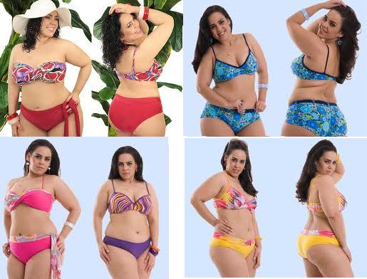 Moda Praia Para Mulheres Gordinhas Cheinhas Biquini Roupa De