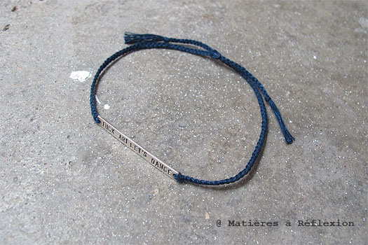 Cooperative de creation fuck art bracelet