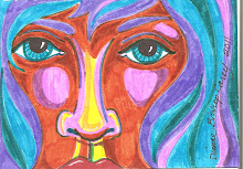 Face in Marker