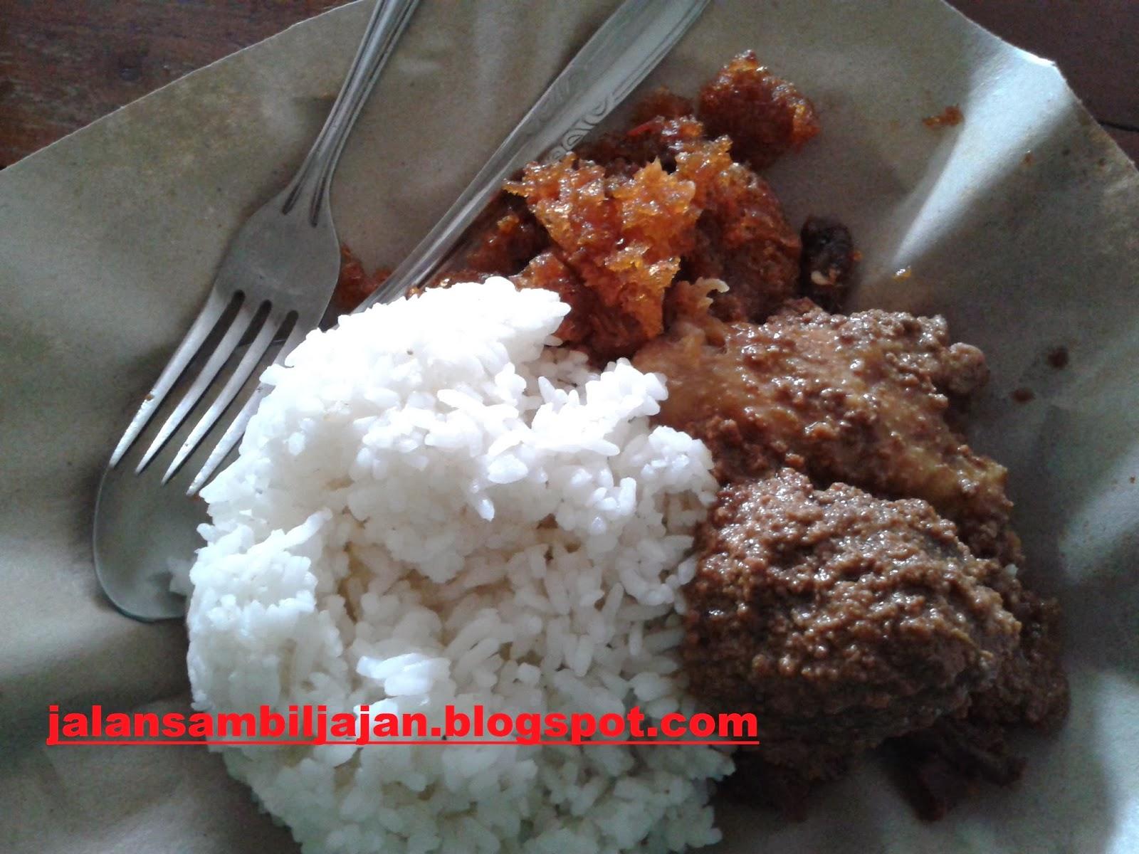Nasi Gudeg Ayam Telur Yu Djum