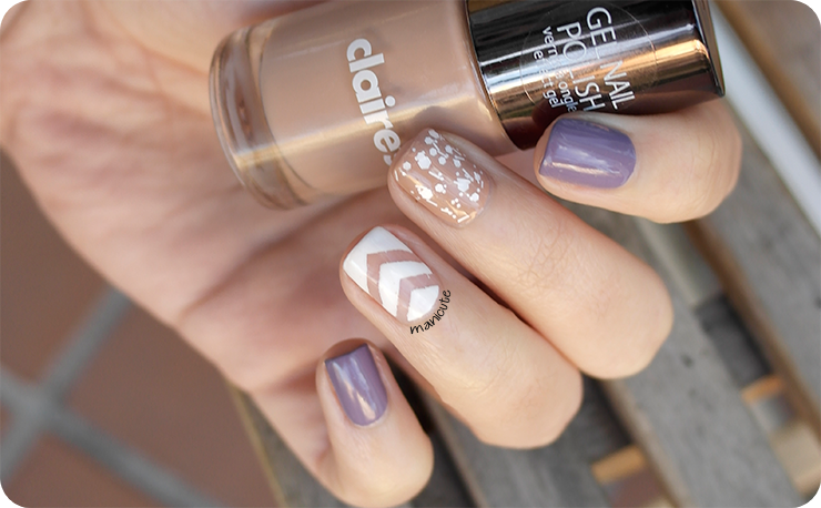 negative space nail art claires nude