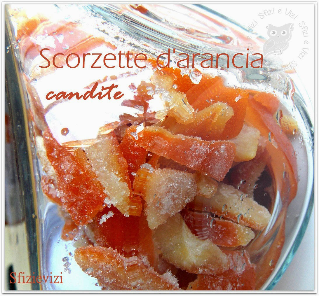 scorzette di arance candite, ovvero le caramelle di una volta