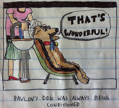 pavlov's dog was always being conditioned