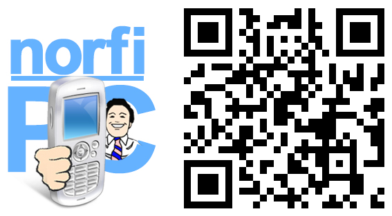 Código QR del sitio norfipc.com