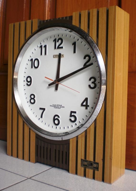 jam dinding citizen - koleksiku barang jadul jam dinding transistor ... 990d0d1147