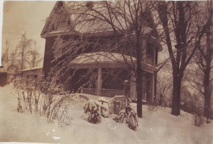 623 Fraser is pictured here, a gorgeous shot of this historic Fraser Avenue home in the 1930s.