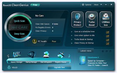 EaseUS CleanGenius, system optimization softwares , system utility , freewares, windows softwares,