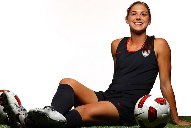 Alex Morgan on oscar grouch jersey