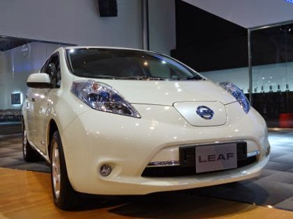 Nissan LEAF, the Fast Electric Car from Japan