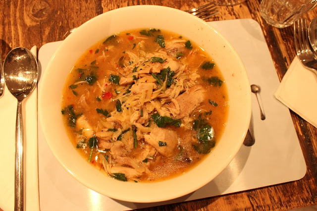 Gizzi Erskine BRITA Cookalong Chicken Orzo Soup