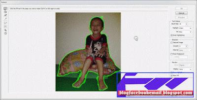 cara menghapus mengganti background gambar atau foto