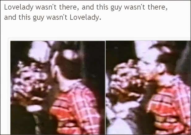 These are pictures of Billy Lovelady outside the TSBD after the assassination of JFK