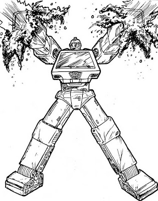 Transformers Ironhide Coloring Pages