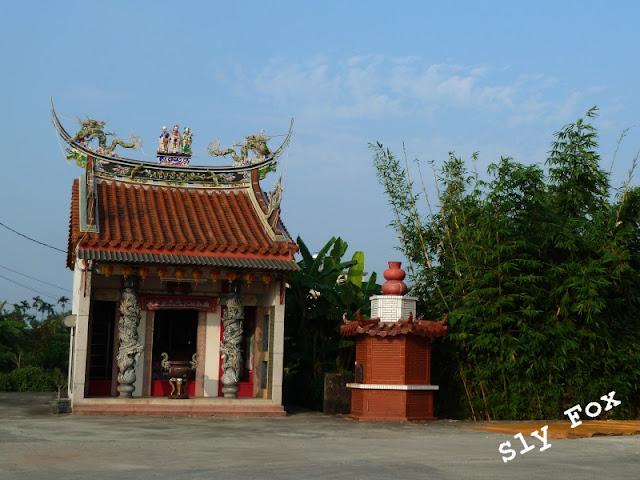 台南市善化區茄拔樹德尊王廟