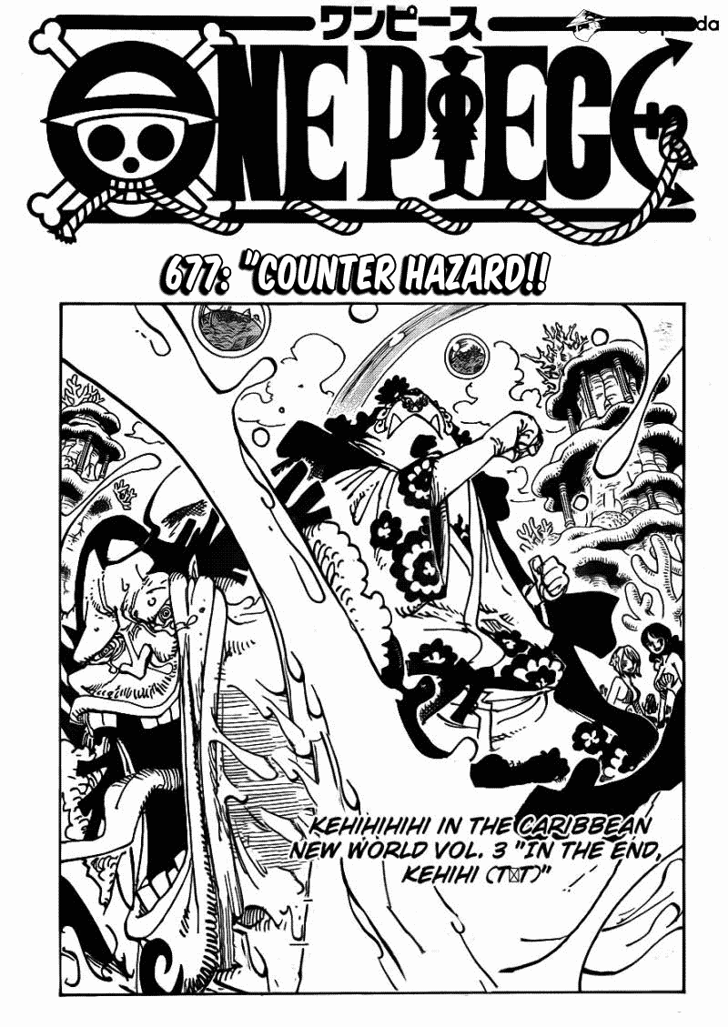 one piece 3518969 One Piece 677   Counter Hazard