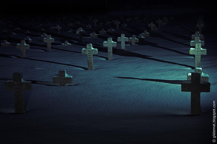 Боруны. Кладбище солдат первой мировой войны