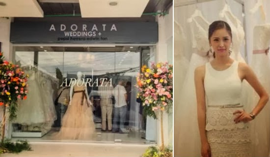 Kim Chiu Opens Adorata Bridal Boutique Offers Rtw Gowns Emongs