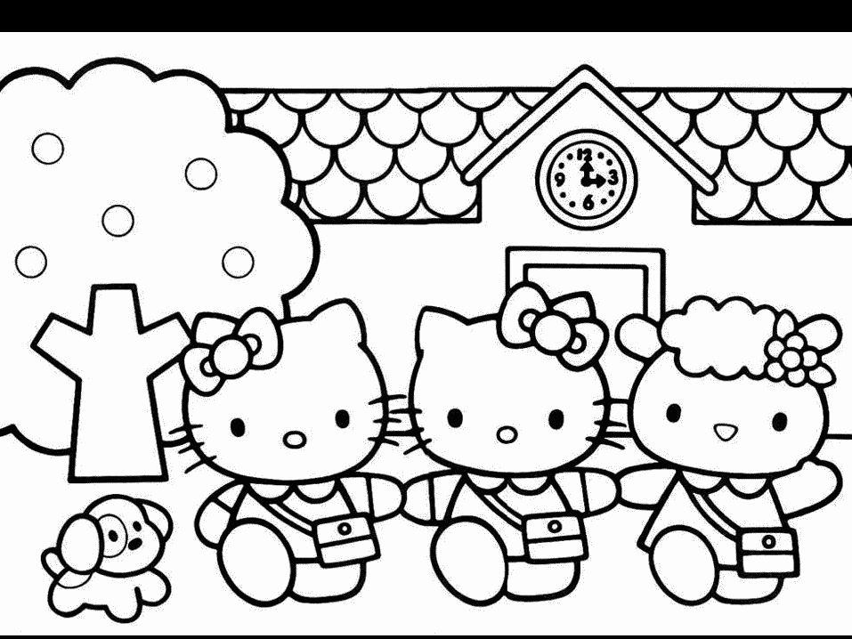 Jogos de Colorir Hello Kitty - imagens para colorir hello kitty