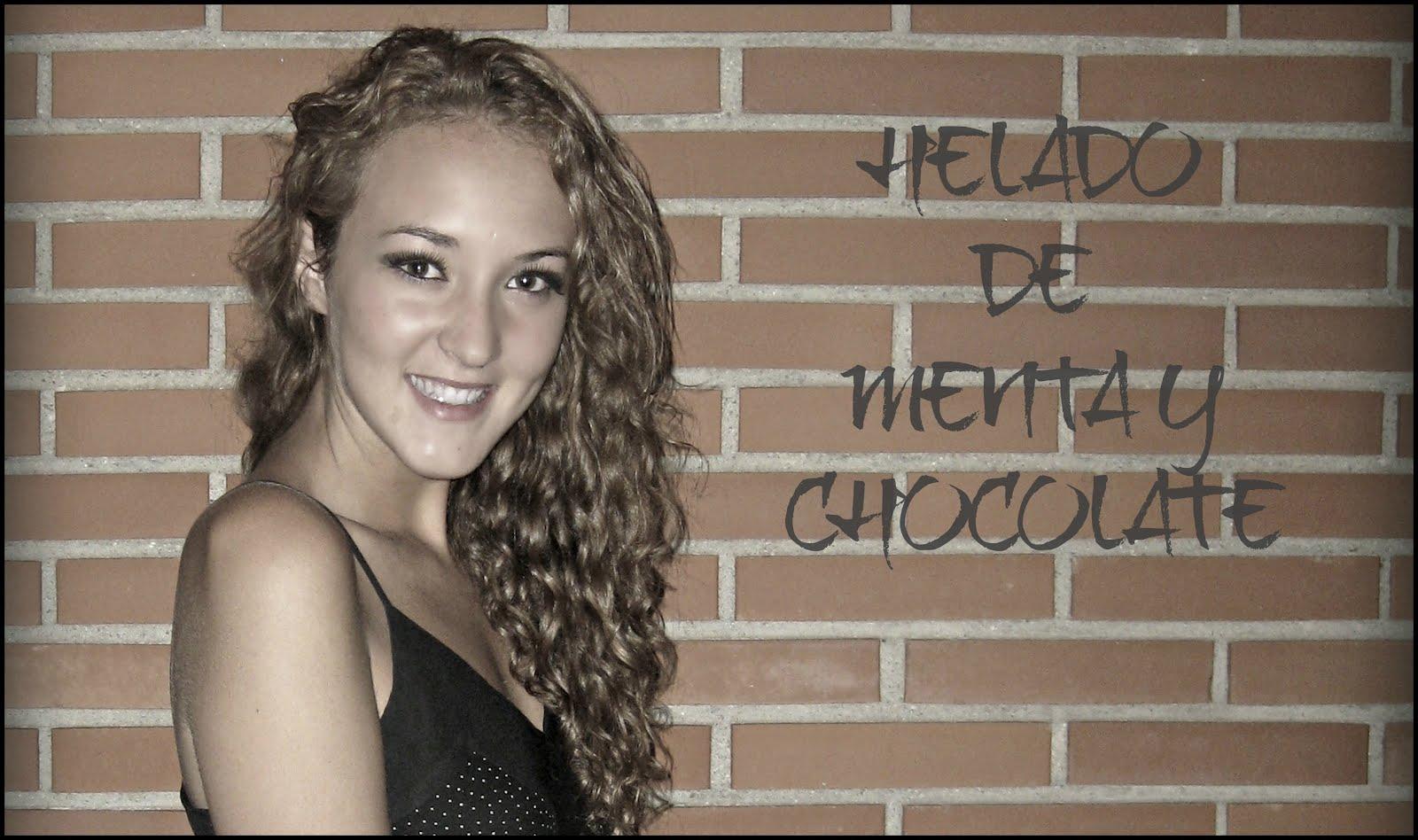 Helado de Menta Y Chocolate...