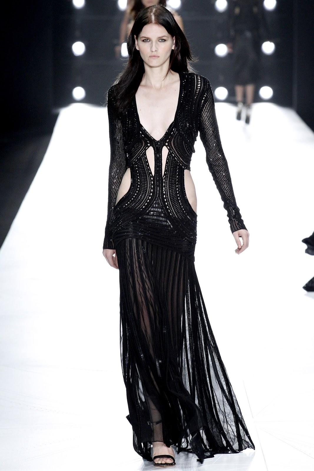 Roberto Cavalli Spring 2013 Milan Fashion Week
