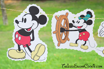 Steamboat Willie Mickey Mouse Banner