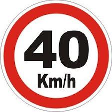 Da Praia da Paciência ao Mercado do Peixe a velocidade máxima permitida será de 40km/h