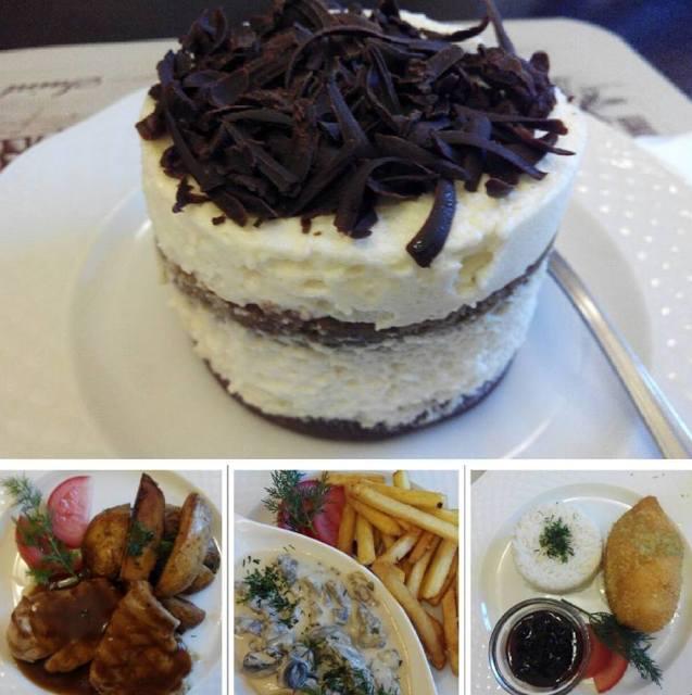 Menú del restaurante Café San Petersburgo