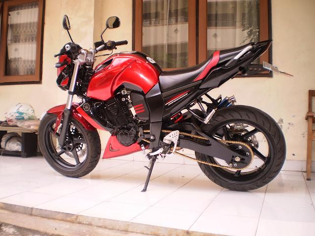 Modifikasi Kak-kaki Yamaha Byson/ FZ1
