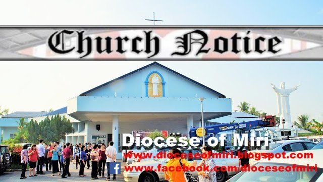 St Anthony 's Church Notices - Bintulu