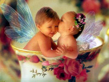 cutes babies like angels - Images provided by http://photoforu.blogspot.com/