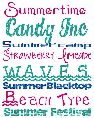 Verano + Fuentes Gratis Fuentes de verano