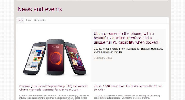 Ubuntu Mobile OS for smart cell phones & tablets to take on Android, iOS, Bada, BlackBerry, SailFish …