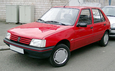 coches de los 80 peugeot 205 5 puertas