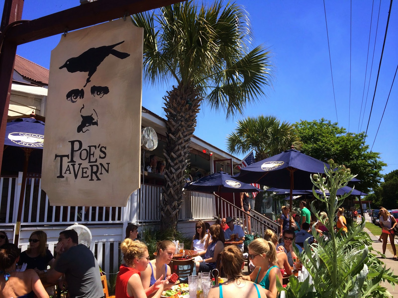 Magnolia Main Poes Tavern On Sullivans Island