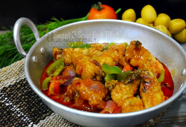 how to cook sweet and sour fish fillet