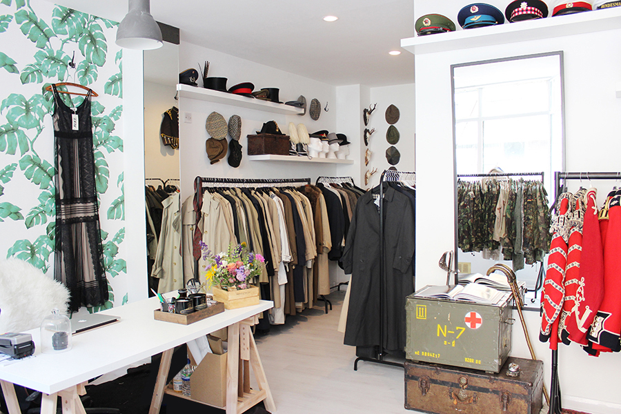 Pics for vintage boutique decor - Boutique vintage londres ...
