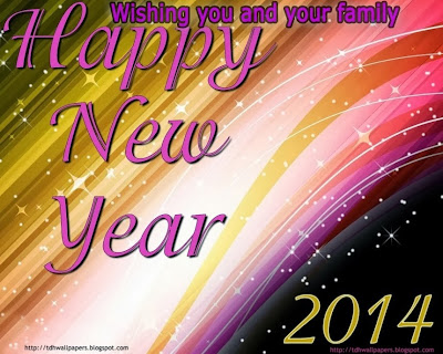 Happy New Year Wishes Wallpapers 2014 Free Downloads For Family