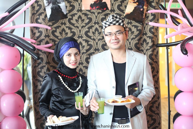 Coco Chanel Dear Hanis Haizi Party by Adibah Karimah and Hasbi