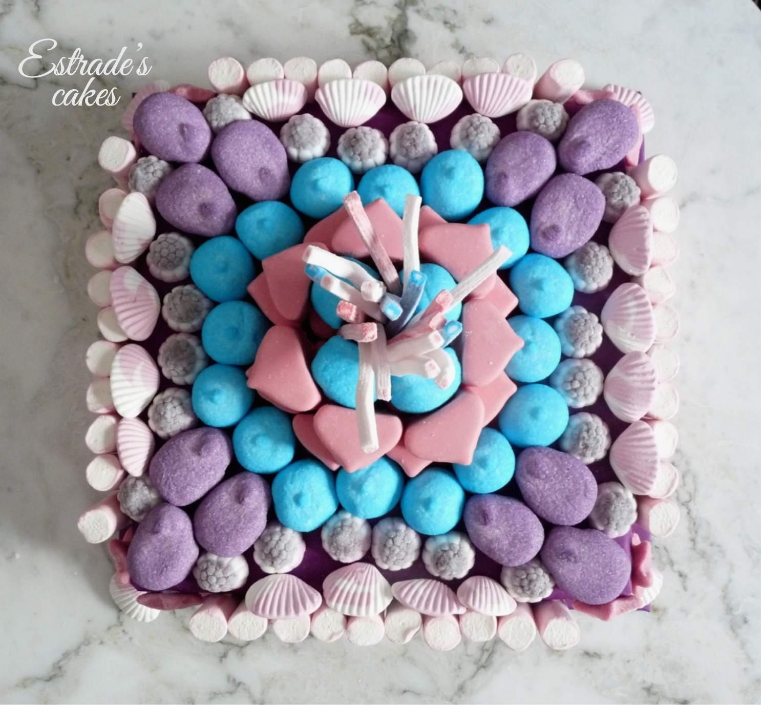 tarta de chuches Violetta - 2
