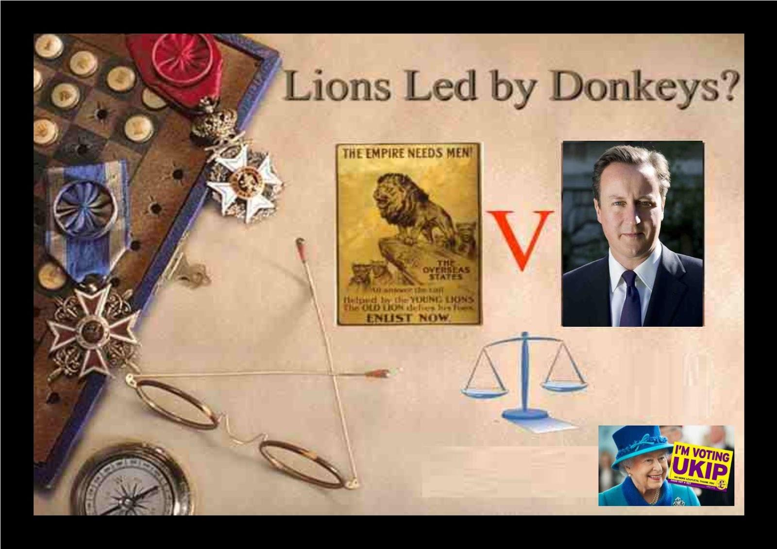 Lions Led by Donkeys