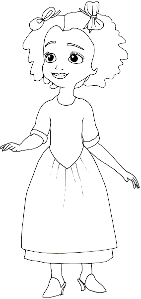 Princess Sofia the First Coloring Pages