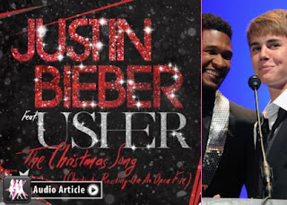 Justin Bieber ft. Usher - The Crhistmas Song (Chestnuts Roasting on An Open Fire)