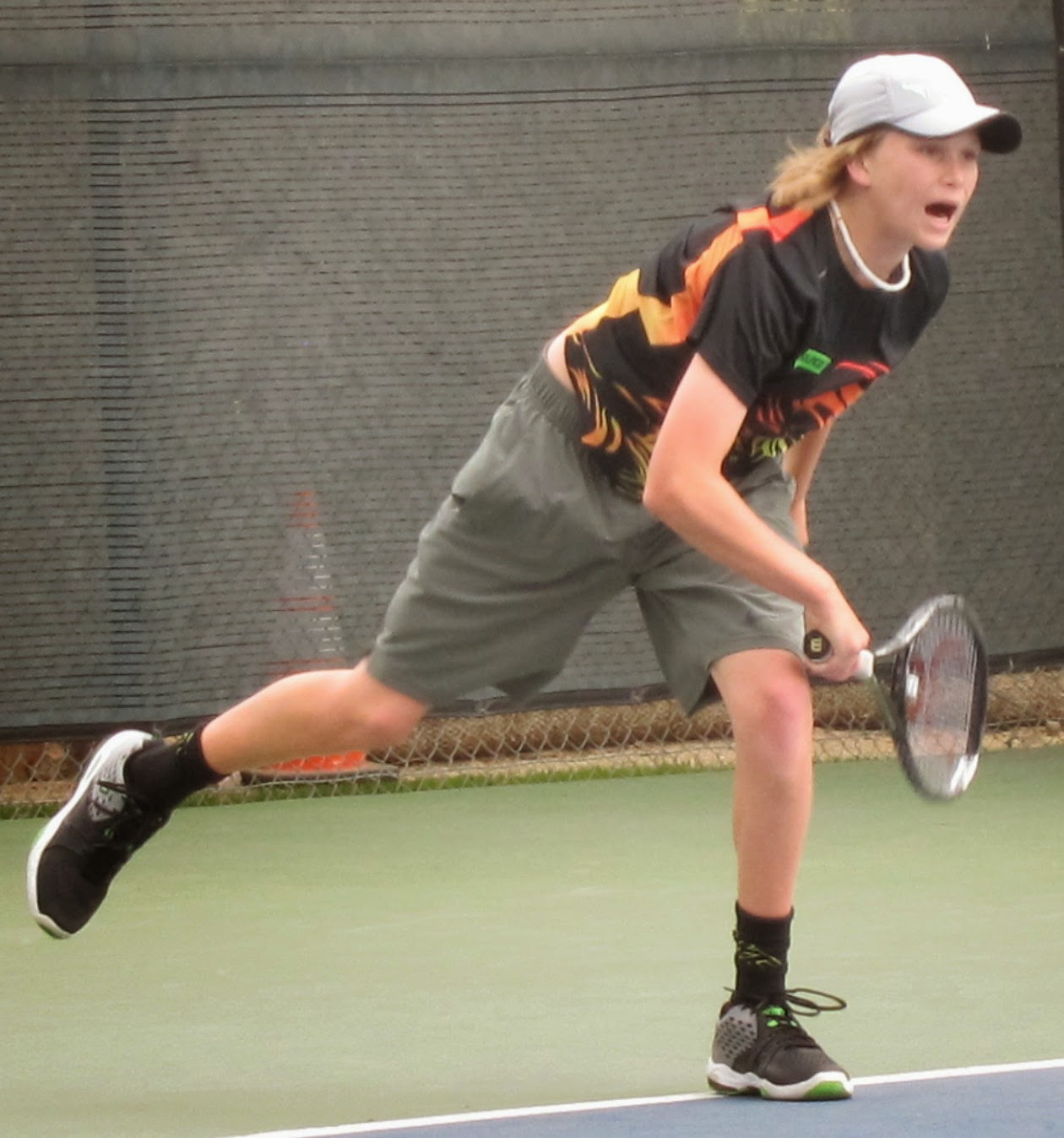 Brooksby, 14, falls in Futures qualies; college results