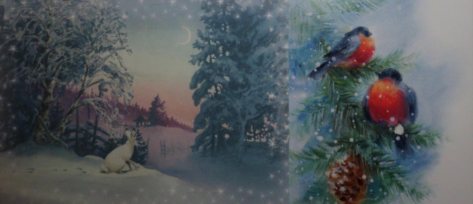 Foreigner in finland christmas cards overview i would like to present also a very original christmas card i got this year reproduction of work of the finnish artist reetta isotupa siltanen m4hsunfo