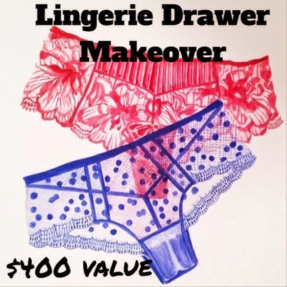Lingerie Drawer Makeover