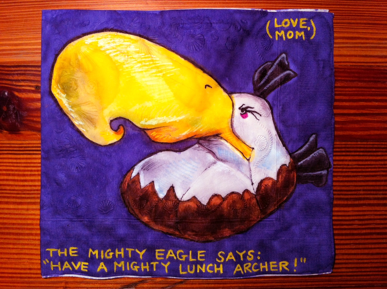 Daily Napkins Mighty Eagle For Archer