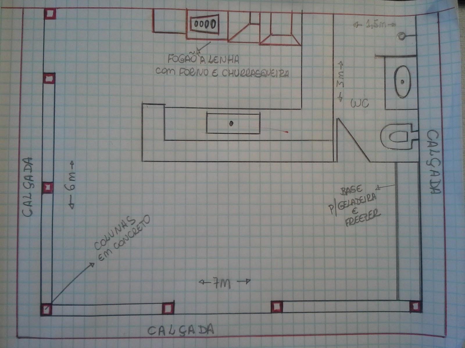 com forno e fogão a lenha num espaço total de 42 metros quadrados #60484B 1600 1200