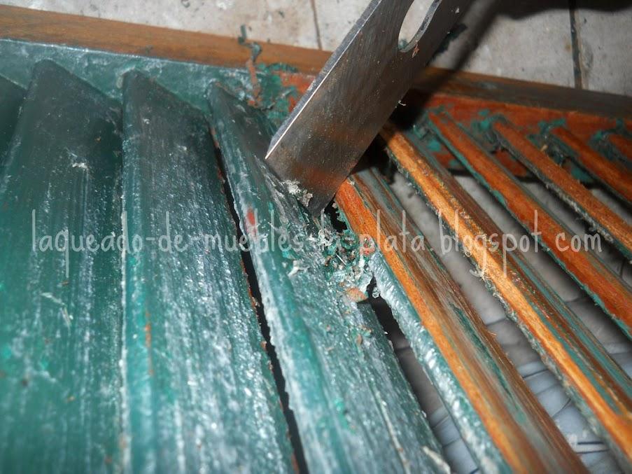 Decapado con removedor como quitar la pintura de muebles - Quitar pintura de pared ...