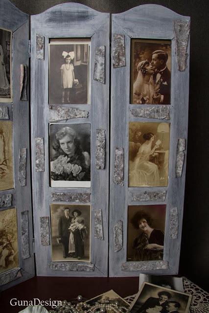 gunadesign guna andersone Scandinavian shabby chic photo frame